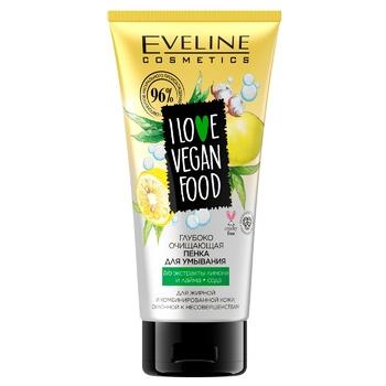 Пенка для умывания Eveline Глубоко очищающая лимон 175мл
