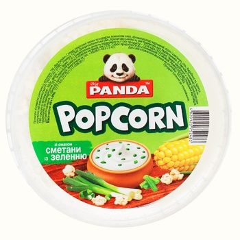 Попкорн Big Panda со вкусом сметаны с зеленью 40г