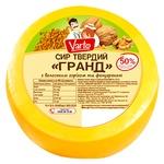 Сыр Varto Гранд с грецким орехом и фенугреком 50% весовой