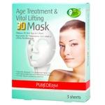 Purederm Anti-Aging Lifting Face Mask 3pcs*25g