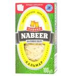 Кальмар Пивной Nabeer соломка солено-сушеная 100г