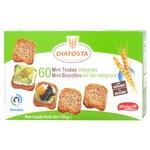 Тости Diatosta Minigrill пшеничні з цільного зерна 120г