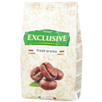Primo Exclusive Fresh Aroma Coffee Beans 500g - buy, prices for Auchan - photo 1
