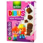 Gullon Dibus Mini Puzzle Cookies 250g