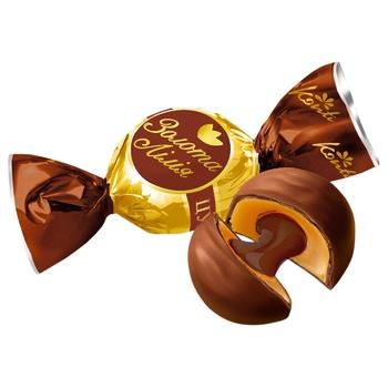 Цукерки Konti Золотая лилия зі смаком шоколада - купити, ціни на CітіМаркет - фото 1