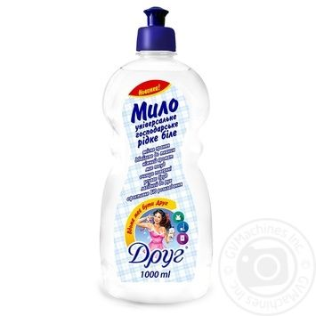 Friend Liquid Economic Soap White 1l - buy, prices for Furshet - image 1