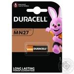 Батарейки алкалиновые Duracell MN27