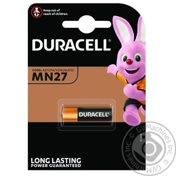 Duracell MN27 Alkaline Battery - buy, prices for Novus - image 1