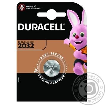Батарейки Basic Duracell 2032_1шт - купить, цены на Novus - фото 1