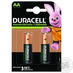 Премиальные аккумуляторы Duracell AA, 2 шт. в упаковке