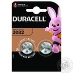 Батарейка Duracell 3V 2032 2шт - купити, ціни на МегаМаркет - фото 1