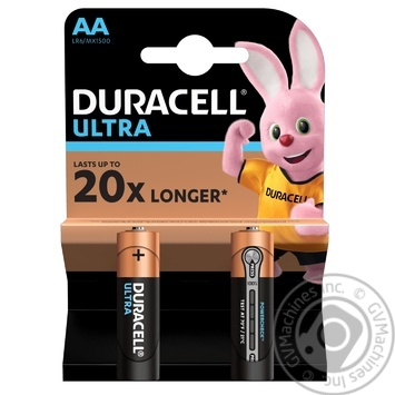 Duracell Ultra Power AA Battery 2pcs - buy, prices for Novus - image 1