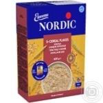 Хлопья Нордик 5 видов зерновых из цельного зерна 600г - купить, цены на МегаМаркет - фото 1