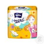 Прокладки Bella For Teens Energy супертонкие впитывающие гигиенические с легким ароматом фруктов 10шт - купить, цены на Таврия В - фото 1