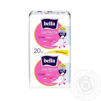 Bella Perfecta Ultra Rose For Women Pads - buy, prices for MegaMarket - image 1