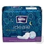 Bella Ideale Ultra Night Hygienical Pads 6 Drops 7pcs