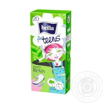 Прокладки ежедневные Bella For Teens Relax гигиенические 20шт