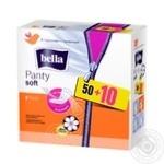 Прокладки ежедневные Bella Panty Soft Deo Fresh 60шт