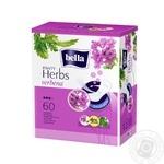 Прокладки гігієнічні Bella Panty Herbs Verbena щоденні 60шт