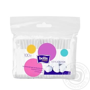 Палочки ватные Bella 100шт - купить, цены на Novus - фото 1