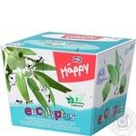 Платочки бумажные Bella Baby Happy двухслойные с ароматом эвкалипта 40+40шт