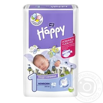 Bella Happy New Born Baby Diapers - buy, prices for Novus - image 1