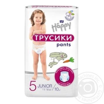 Підгузники-трусики Bella Happy Baby Maxi 5 11-18кг 10шт - купити, ціни на CітіМаркет - фото 1