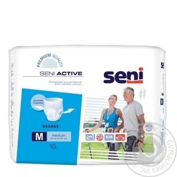 Підгузники Seni Super Active Medium для дорослих 10шт х3