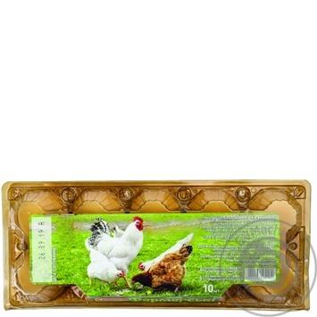 Яйца куриные Ясенсвит Фермерские С1 10шт - купить, цены на Ашан - фото 2