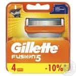 Картриджи для бритья Gillette Fusion сменные 4шт - купить, цены на Таврия В - фото 1