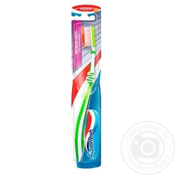Зубная щетка Aquafresh Interdental средней жесткости - купить, цены на Таврия В - фото 1