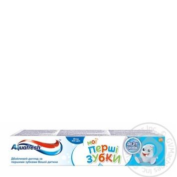 Зубная паста Aquafresh Мои Первые Зубки 50мл - купить, цены на Novus - фото 1
