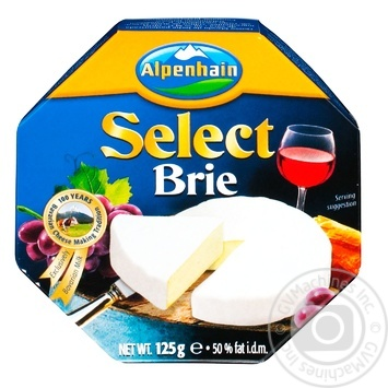 Alpenhain Select brie with mold cheese  50% 125g - buy, prices for Novus - image 1