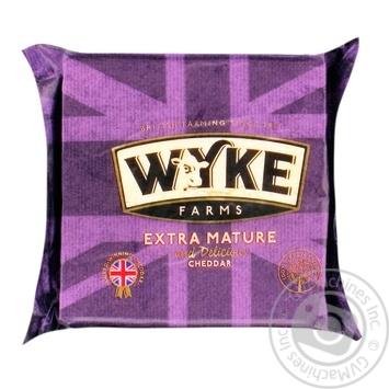 Сыр Wyke Farms Чеддер полутвердый 56% 200г