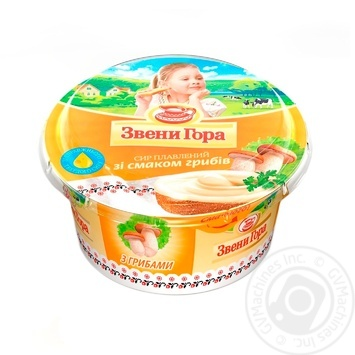 Zveni Gora Cream Cheese With Mushrooms Flavor - buy, prices for Novus - image 1