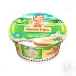 Сыр Звени Гора плавленый пастообразный со вкусом укропа и чеснока 50% 175г пластиковый стакан Украина