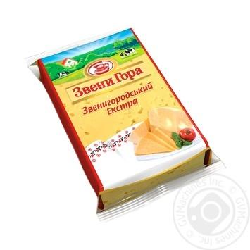 Сыр Звени Гора Звенигородский Экстра 50% 200г - купить, цены на Фуршет - фото 1