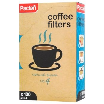 Paclan Filters for №4 Coffee 100pcs