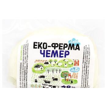Сыр Эко-Ферма Диво Чемер мягкий 40% весовой - купить, цены на СитиМаркет - фото 1