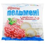 Meat dumplings Laska pork frozen 400g Ukraine