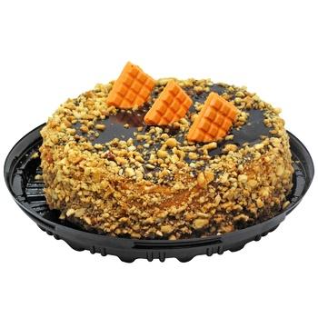 Торт Снікерс ваг (Власн.вироб) - купити, ціни на CітіМаркет - фото 1