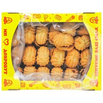 Cookies Dobrobut Strumok 450g Ukraine - buy, prices for CityMarket - photo 1