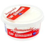Yahotynskyi Homemade Cottage Cheese 9% 370g