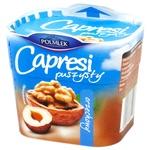 Сыр мягкий сливочный Рolmlek Capresi с наполнителем орехи 150г