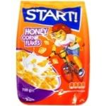 Готовый завтрак Start! Кукурузные хлопья медовые 700г