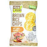 Rice Up! hot chili pepper brown rice chips 60g