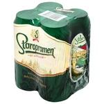 Staropramen Blonde Beer 4*0,5l can