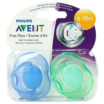 Avent Breathing Soother 6-18 Months 2pcs - buy, prices for Furshet - image 2