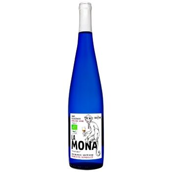 Wine La mona white semisweet 12% 750ml glass bottle Spain - buy, prices for CityMarket - photo 1