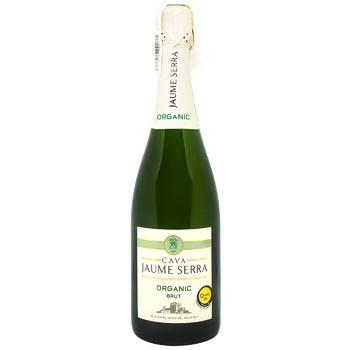 Jaume Serra Cava White Brut Organic Wine 11.5% 0.75l